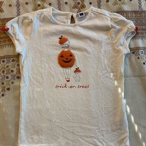 Janie and Jack Shirts & Tops - Girls Janie and Jack Halloween shirt, size 12